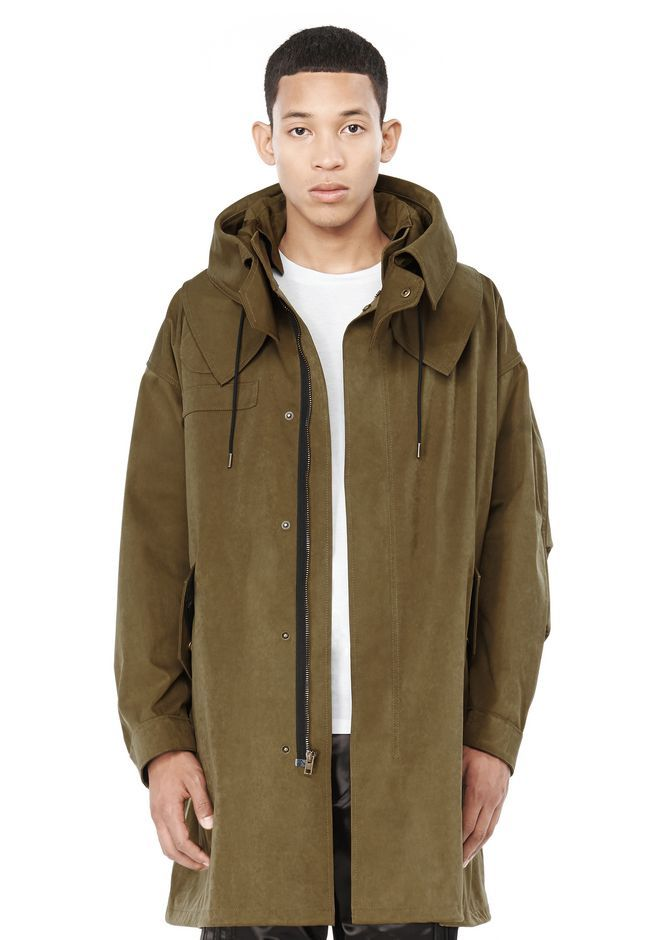 FISHTAIL PARKA | Jackets And Outerwear | Alexander Wang Official ...