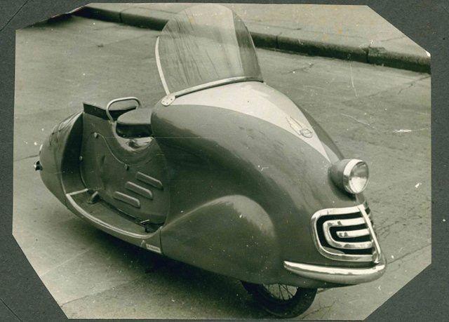 The Cyklomobil (1951) : RetroFuturism