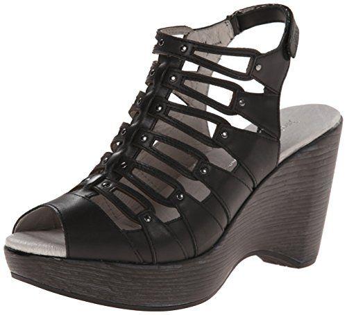 Jambu Women's Gillian Wedge Pump, Black, 7 M US Jambu http://