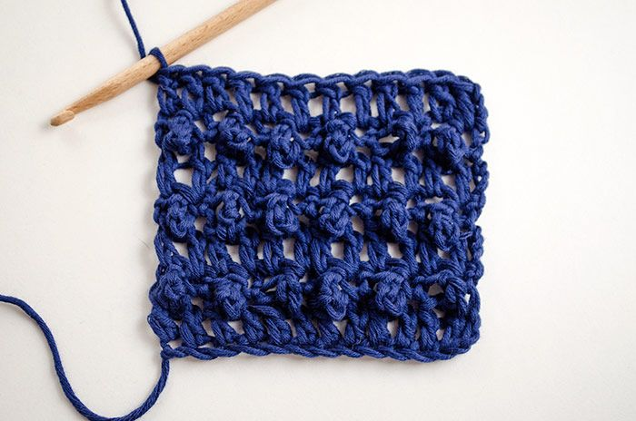 Comment crocheter en point triple boucle
