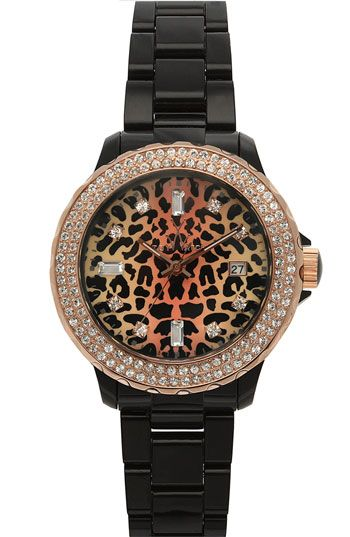 TOYWATCH Leopard Dial Watch available at #Nordstrom