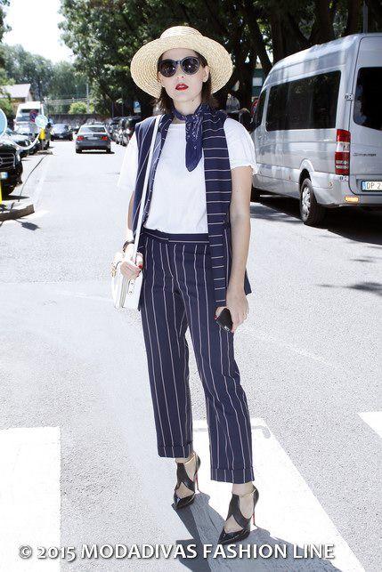 Irene Buffa - Emporio Armani - It's time to street style: Milan Men's Fashion Week Spring Summer 2016