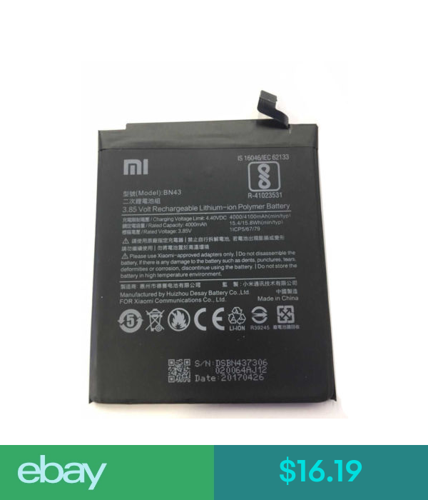 Xiaomi Device Specific Electronics Batteries Cell Phones Accessories Ebay Notes The Originals