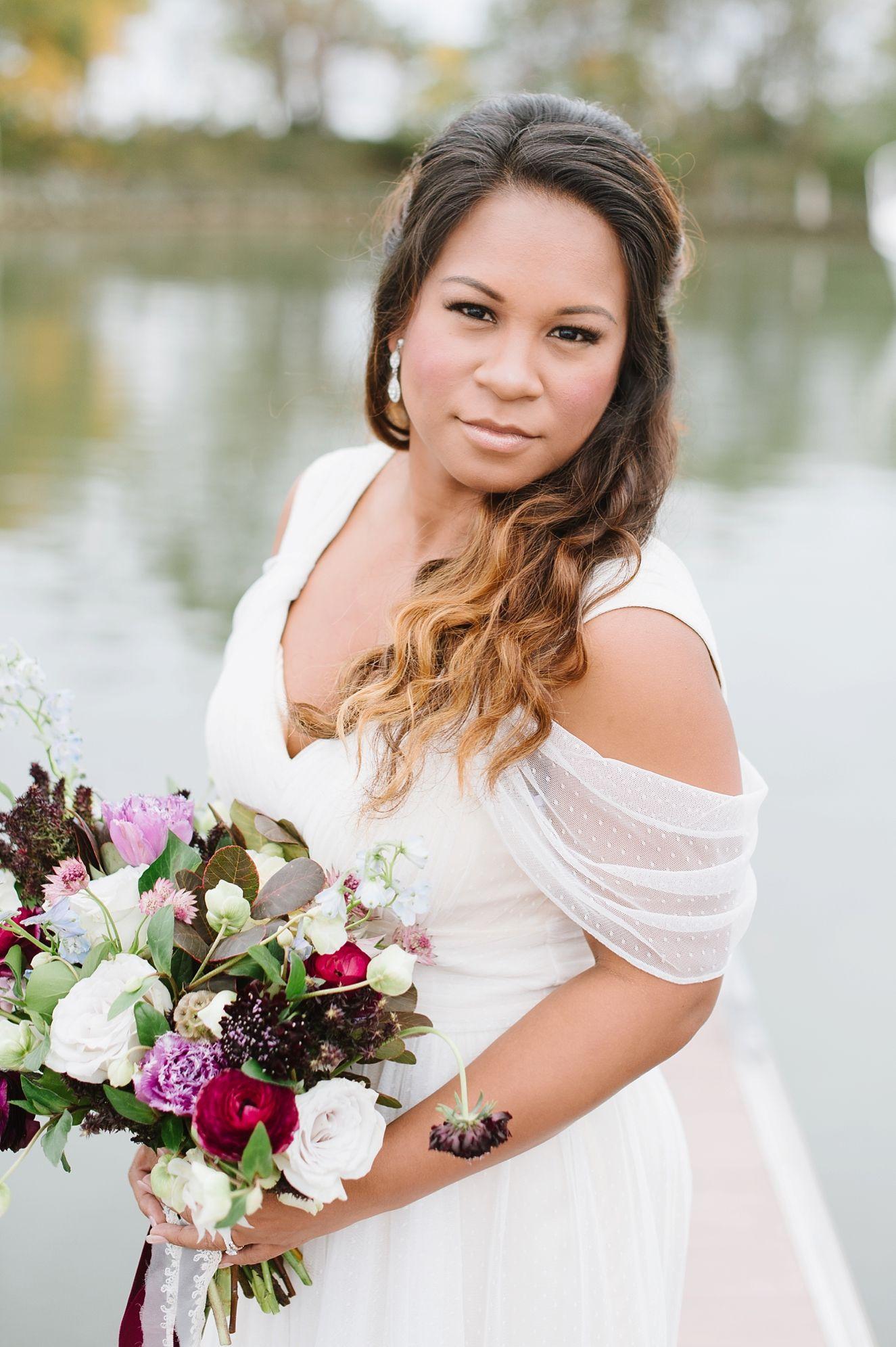 Plum and Magenta Wedding   Seaside + Beach Inspiration by Natalie ...