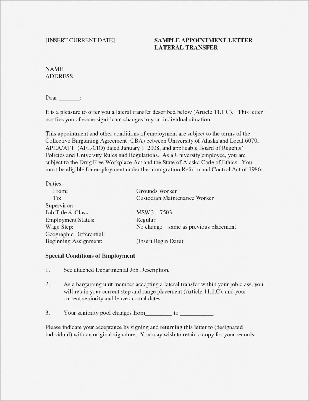Explore Our Image of Bond Claim Letter Template Job