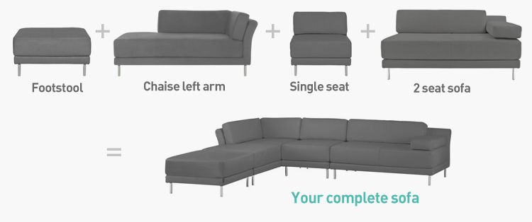 Modular Sofa Google Search With Images Sofas For Small Spaces Modular Sofa Chairs For Small Spaces