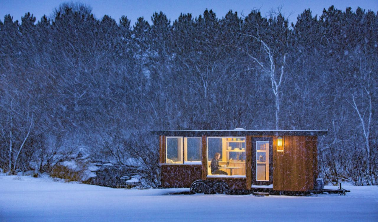 ESCAPE VISTA |  kelly davis + dan george dobrowolski / hat tips to curbed + tiny house swoon + tiny house daily | previously / s&thi
