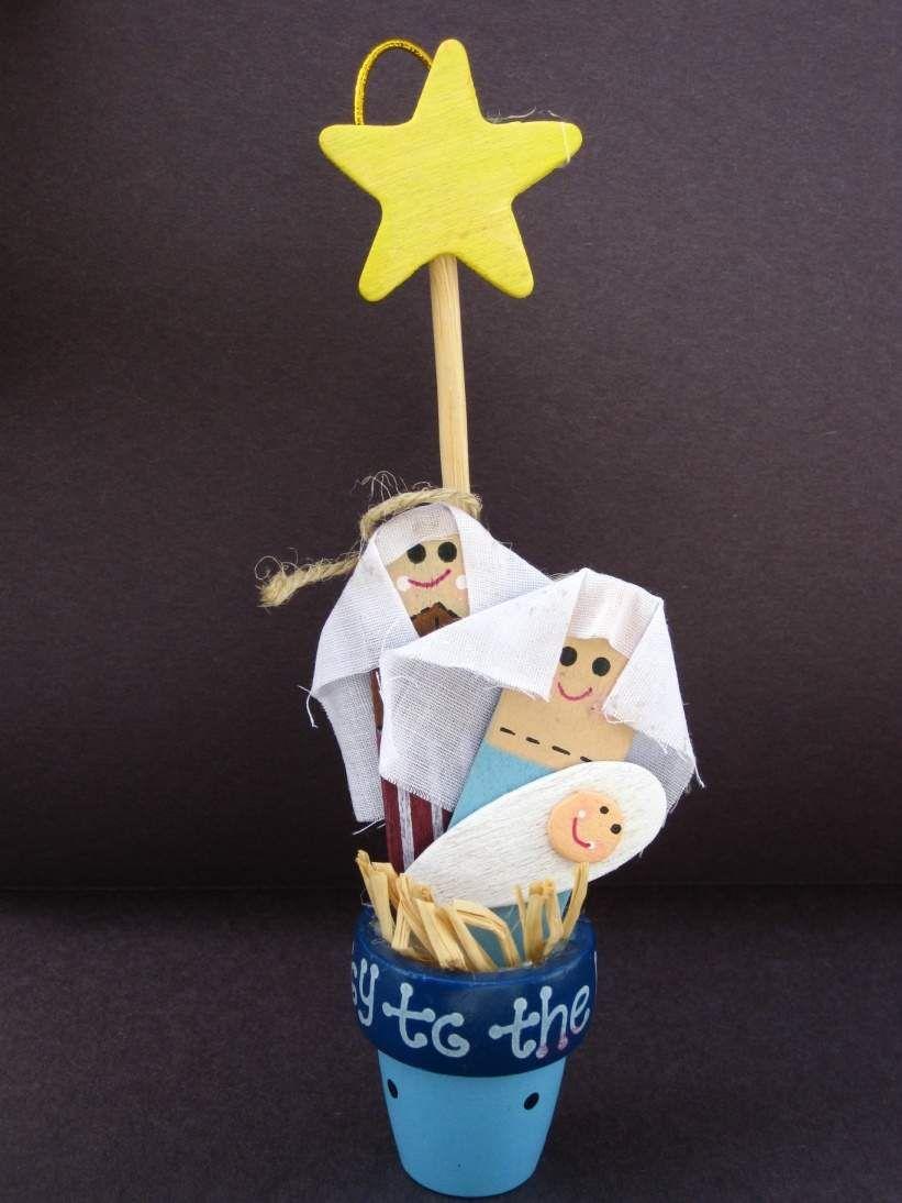 25 Christmas Crafts Ideas For Kids   Christian christmas ...