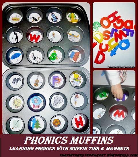 Phonics Muffins Phonics Lessons With Muffin Tins Abc