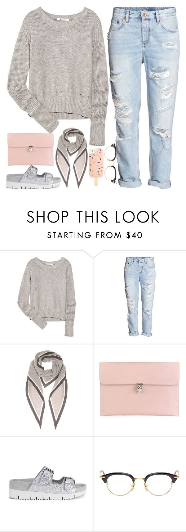 """Simply "" by nabilahfakhirah ❤ liked on Polyvore featuring T By Alexander Wang, H&M, Loro Piana, Alexander McQueen, Ash, Thom Browne, Tory Burch, women's clothing, women and female"