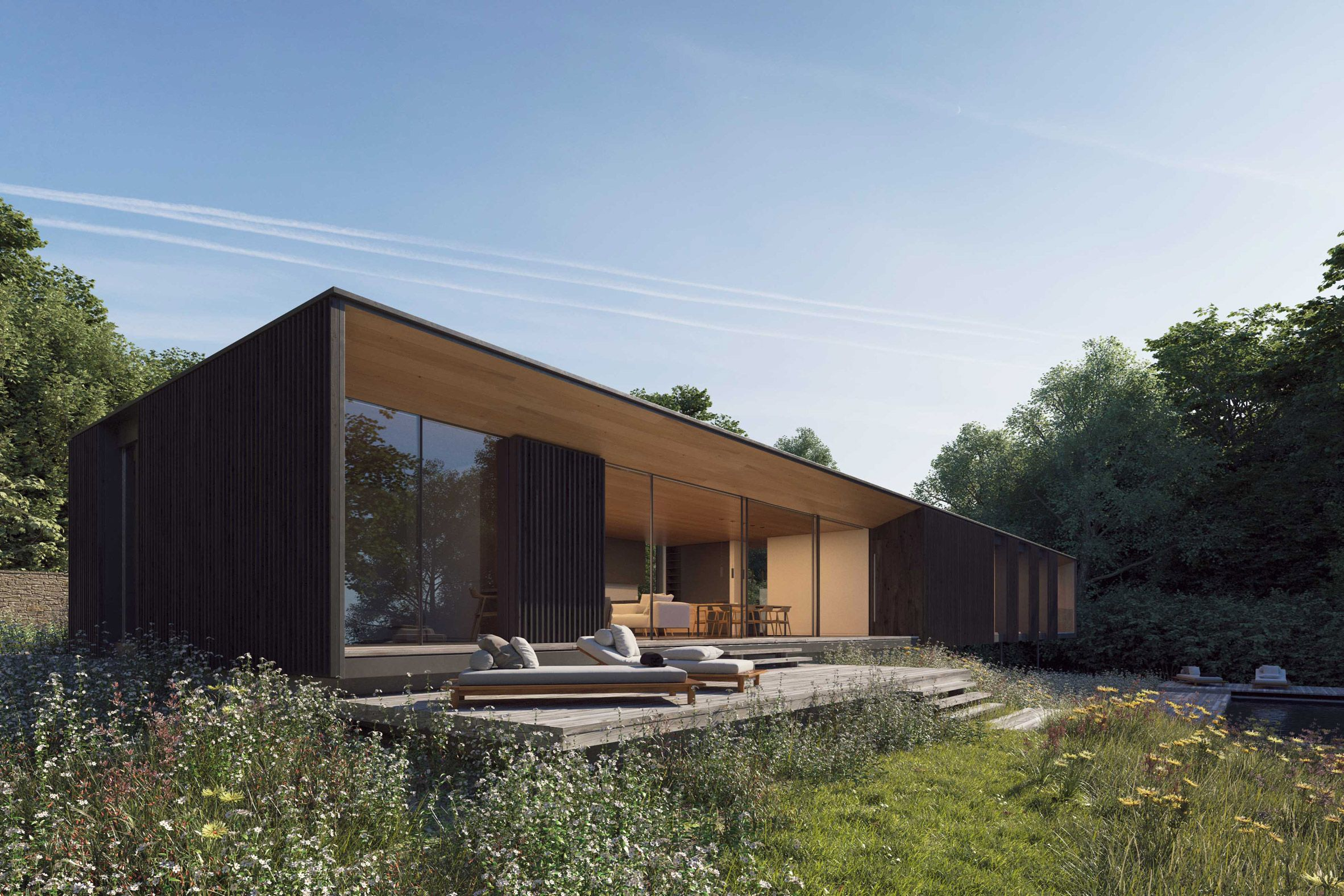Country House The Most Natural Contemporary Style Modern