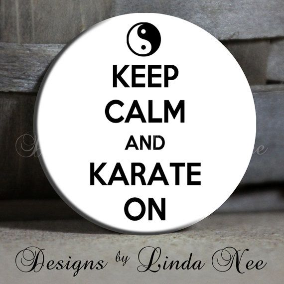 Exclusive to my Shop  Keep Calm and KARATE by DesignsbyLindaNeeToo, $1.50