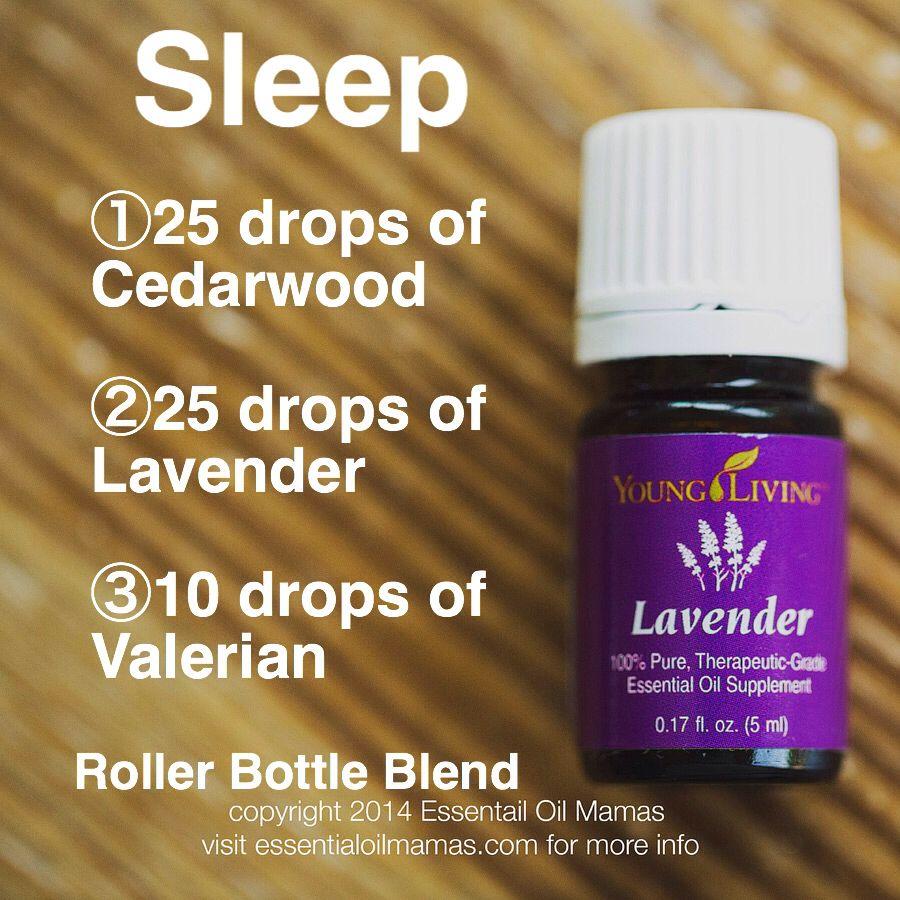 Sleep roller bottle blend