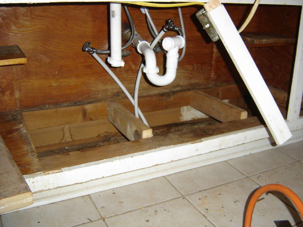 ModusModern Restoring an Original Kitchen Sink Base