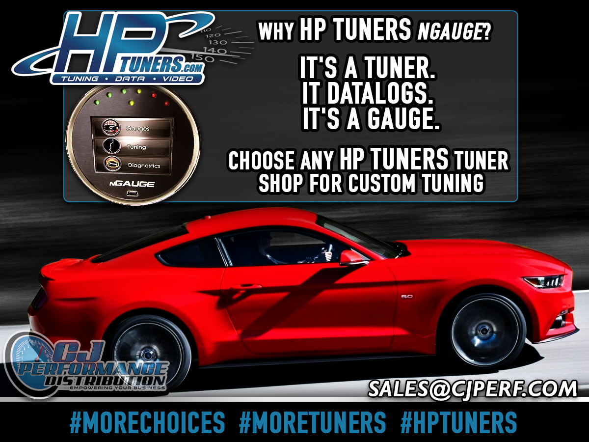 The HP Tuners nGauge  Tune your Coyote, EcoBoost, or other