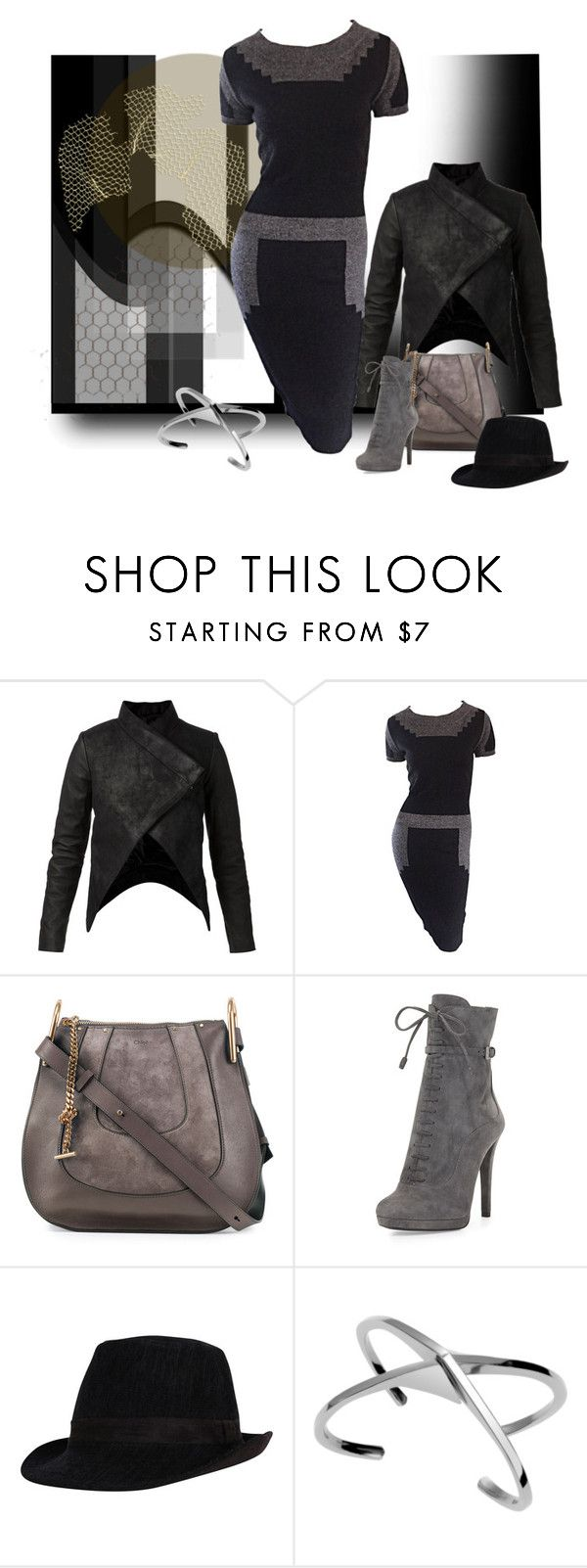 """""""Wired"""" by michelletheaflack ❤ liked on Polyvore featuring STRATEAS.CARLUCCI, Chloé, Prada, Bliss Lau and lightanddark"""