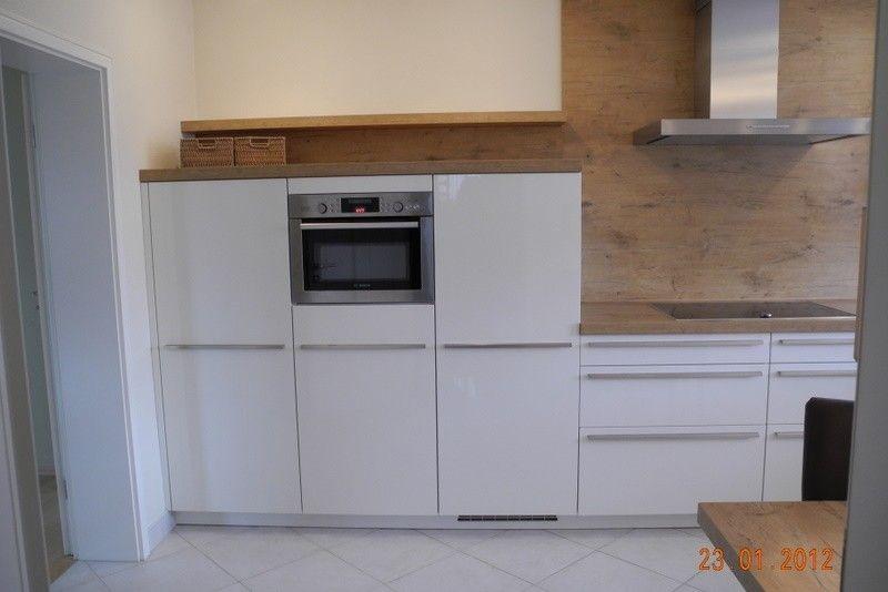 Magnolias Küche wurde weiß (Hochglanz-Lack) - Fertiggestellte ... | {Küchenzeile weiß hochglanz 77}
