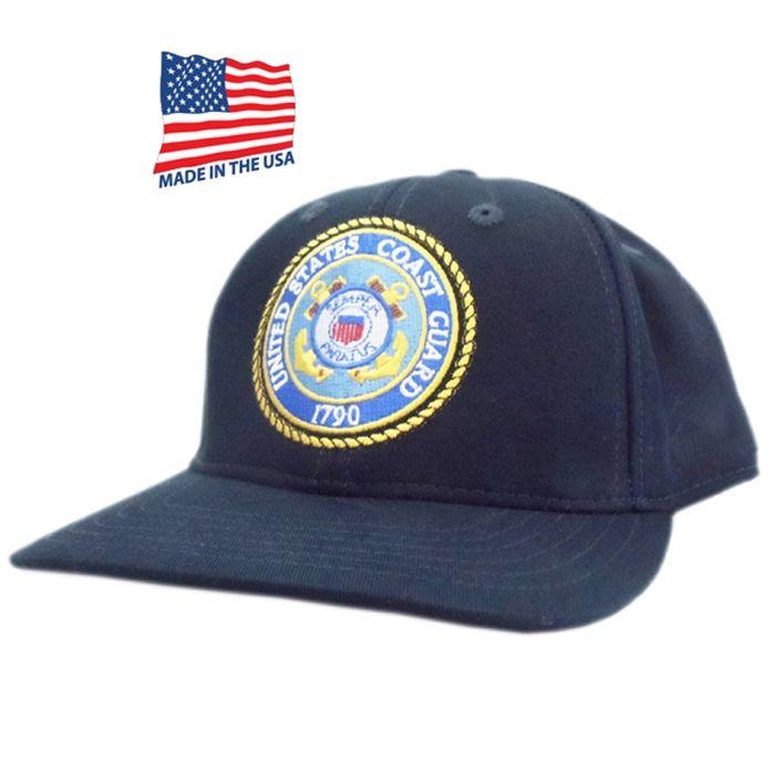 e0df7a7da84c5 US COAST GUARD LOGO MADE IN USA HAT
