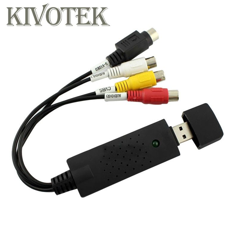 3 RCA to USB Audio//Video Adapter AV Converter Cable Cord Link For TV//Mac//PC