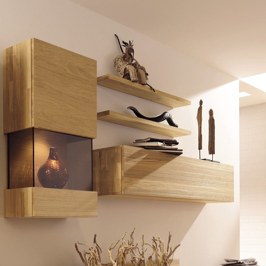 Modern Wall Mounted Shelves  Wall Mounted Shelves in 2019