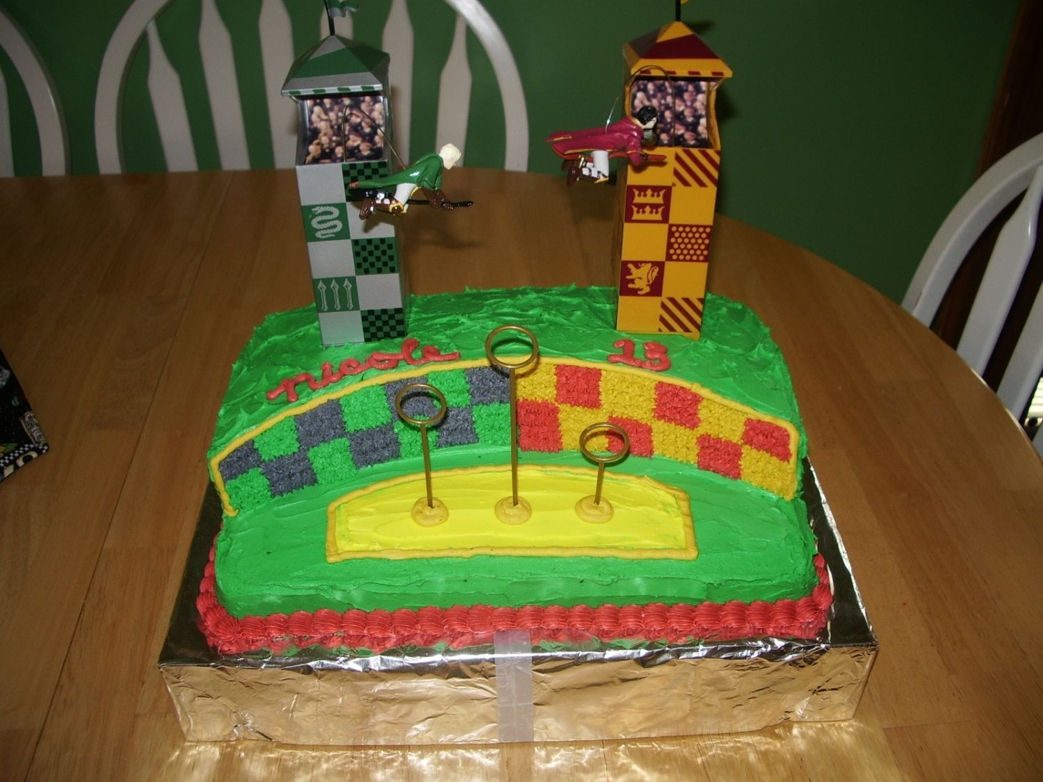 Harry Potter Quidditch This is one of my FAVORITE cakes I have