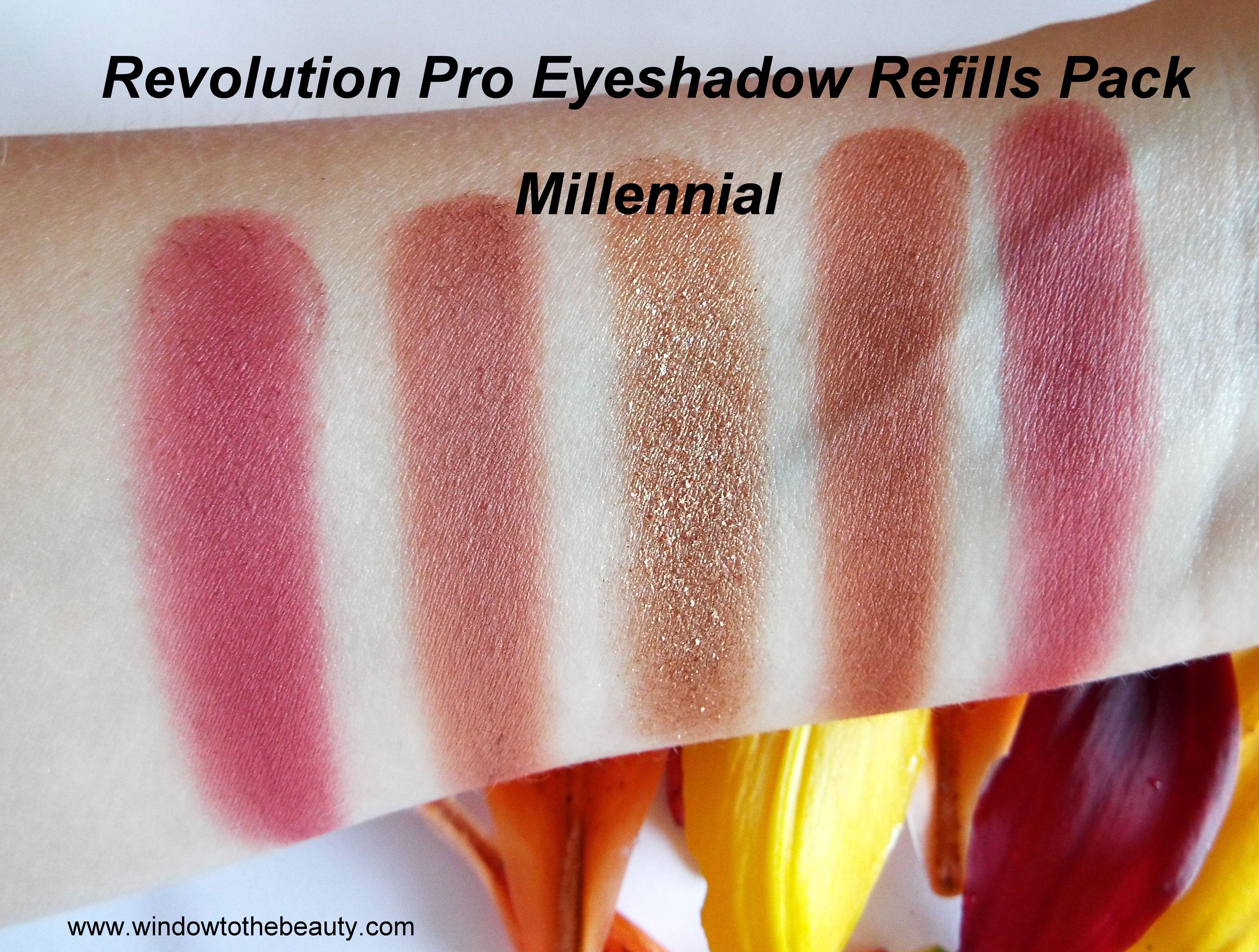 Revolution Pro Eyeshadow Refills Pack Eyeshadow, Refill