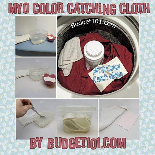 Homemade Laundry Color Catcher Sheets | Pinterest | Catcher, Diy ...