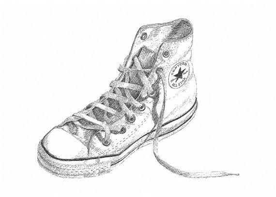 converse chuck taylor dibujos