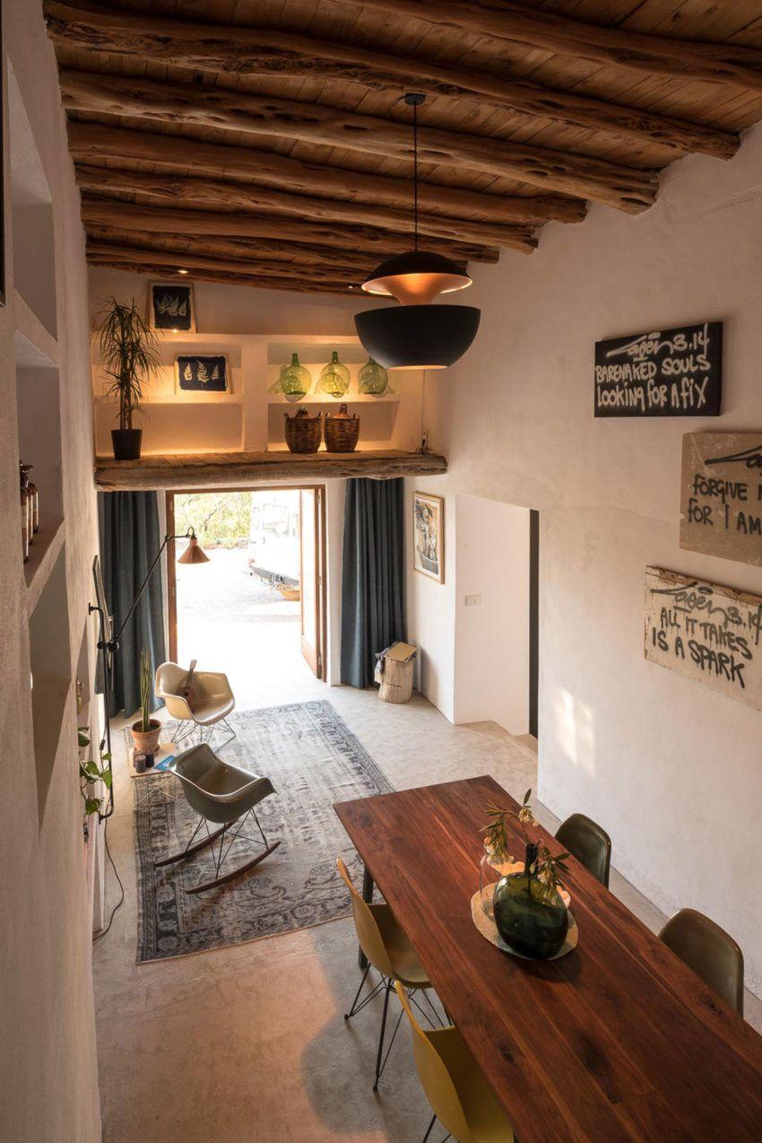 Ferienhaus innenarchitektur standard studio konvertiert  jahre altes ibiza cottage in ein