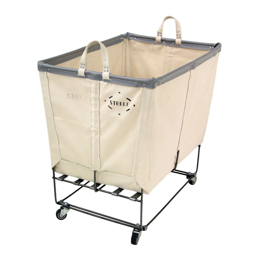 Canvas Elevated Truck Permanent Style 6 Bu Wicker Laundry