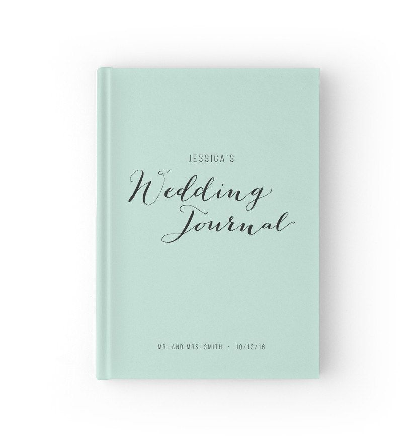 Wedding Planner Book Mint Journal Bridal Planning 5 X 7 Inches Wgb003