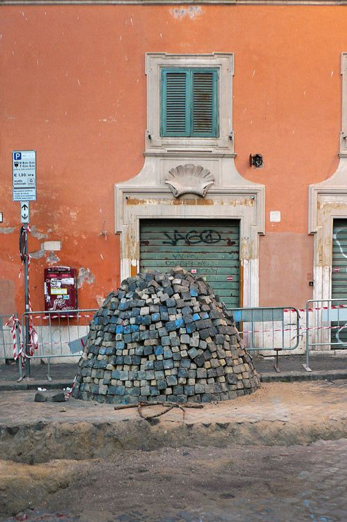 Sanpietrini, Rome, Italy