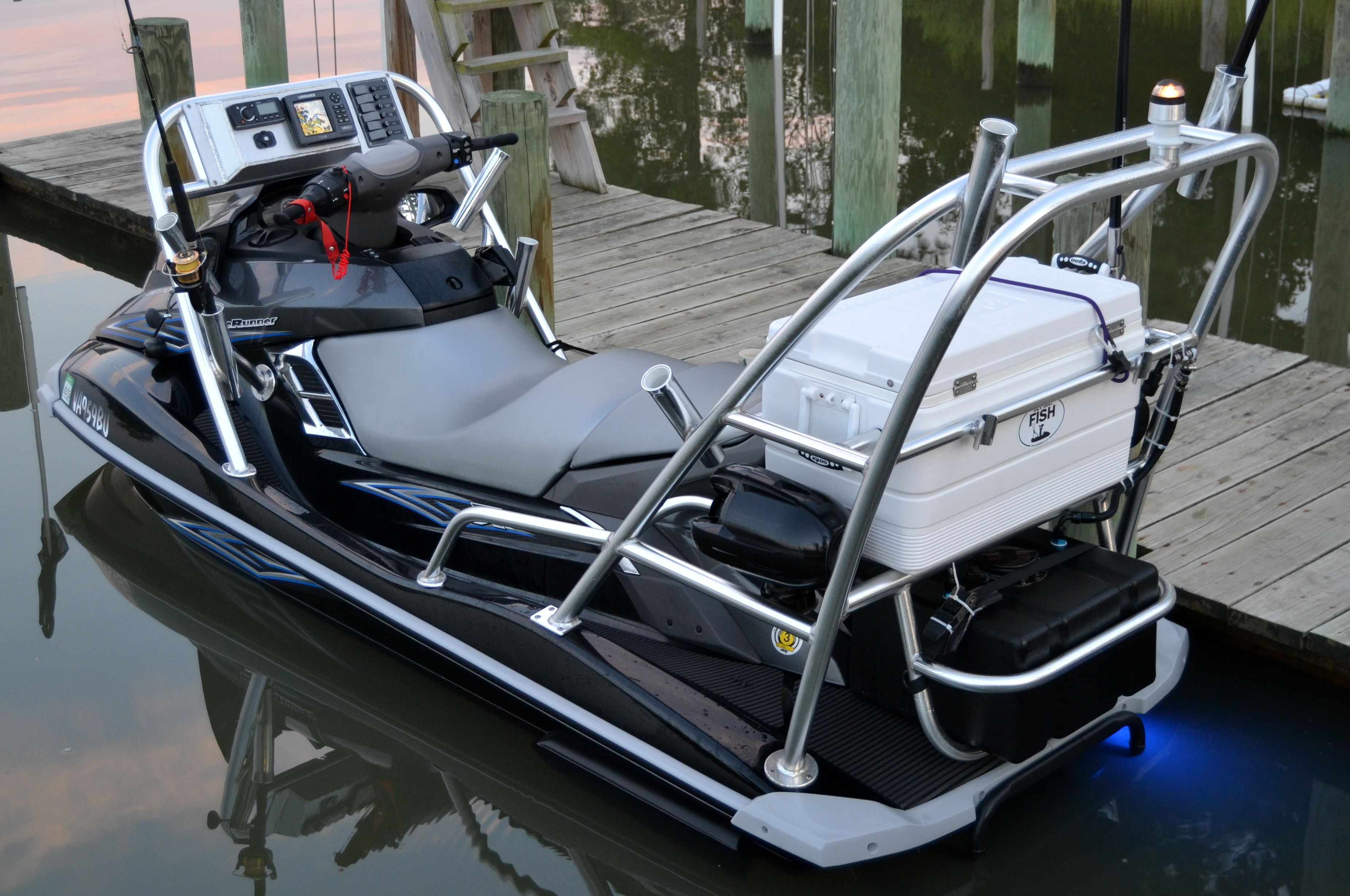 Awesome | Jet ski fishing, Jet ski, Fishing rigs