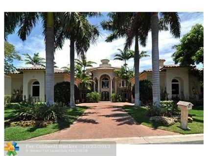 Harborage Isle Dr Fort Lauderdale FL This Spectacular - Before and after from a mediterranean house fort lauderdale
