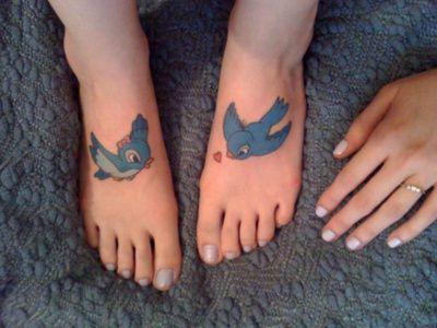 Disney birds #Disneytattoos