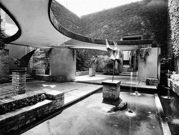 Carlo Scarpa - The Sculptures Garden - Italian Pavilion - 1960