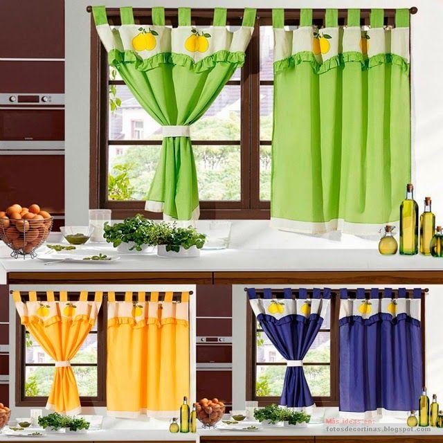 Que cortinas poner en la cocina elaboracion de cortinas - Que cortinas poner en la cocina ...