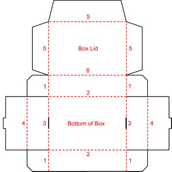 fold a box i like this idea i 39 m having trouble finding the right size boxes this year. Black Bedroom Furniture Sets. Home Design Ideas