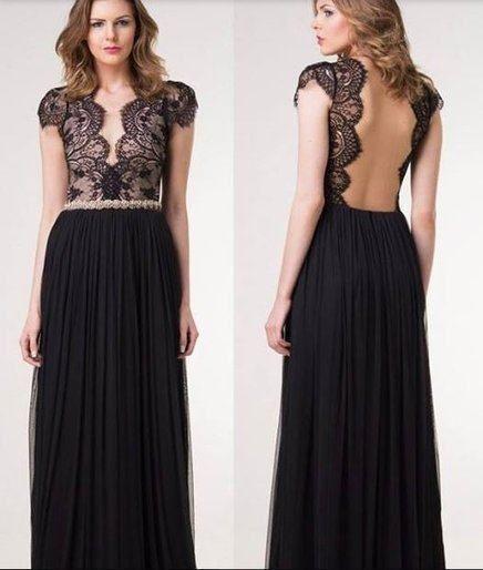 vestidos-de-festa-com-tule-e-renda-plissados.jpg (436×514)