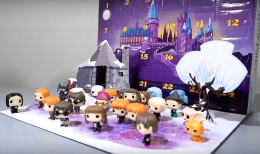 Funko Pocket Pop Harry Potter 2019 Advent Calendar Lot of 24