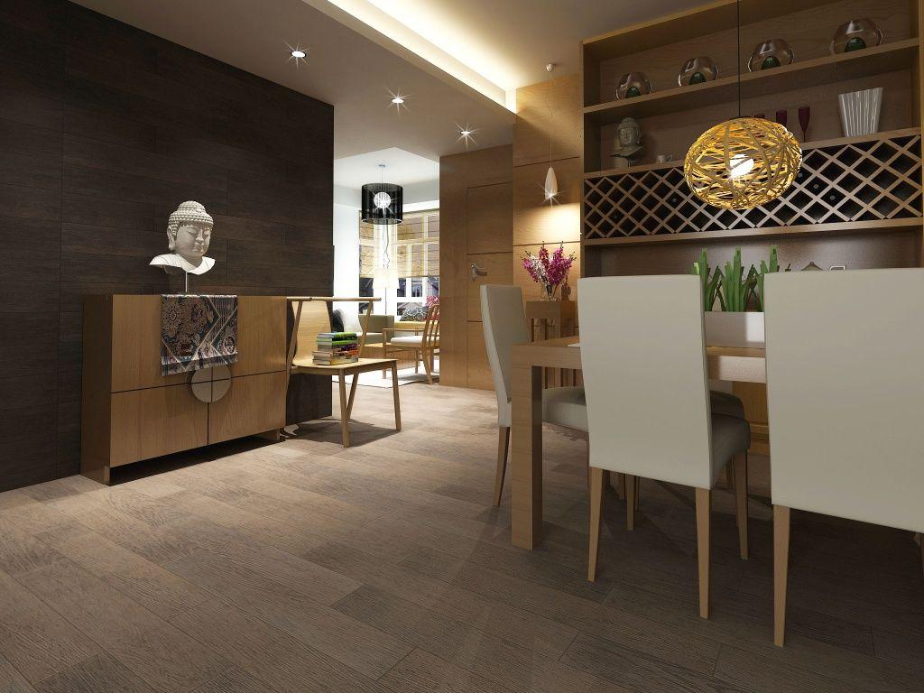 Imagen de pisos y azulejos de Comedores  for my home
