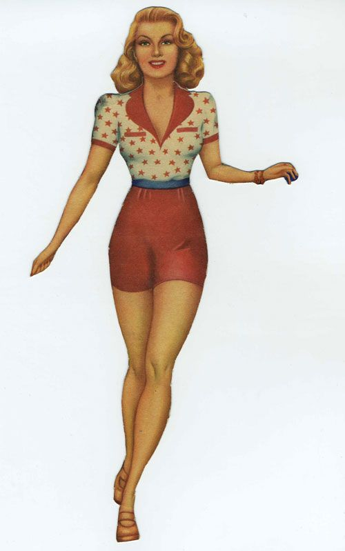 Lana Turner Paper Doll 2 1940s Paper Dolls Vintage Paper Dolls Dolls Film