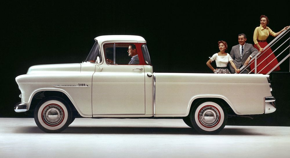1955 Chevrolet Cameo Carrier | Classic Cars | Pinterest