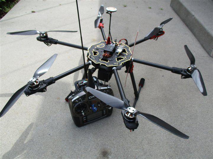 Tarot 680 Pro - Spektrum DX9 and DLA V3 | Tarot 680 Pro Hexacopter