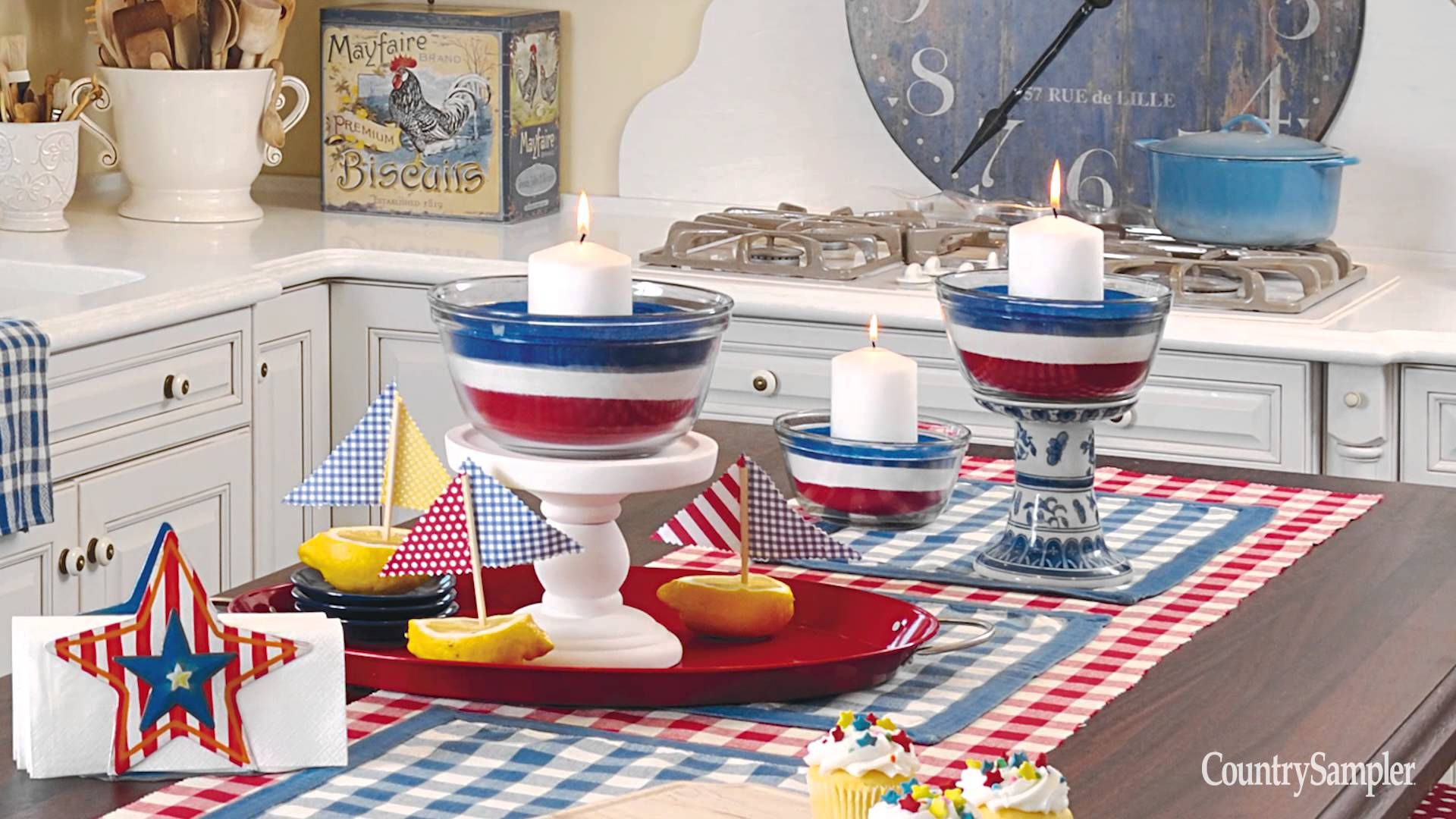 HOME DECOR THAT PACKS A PATRIOTIC PUNCH: Learn Tips On How