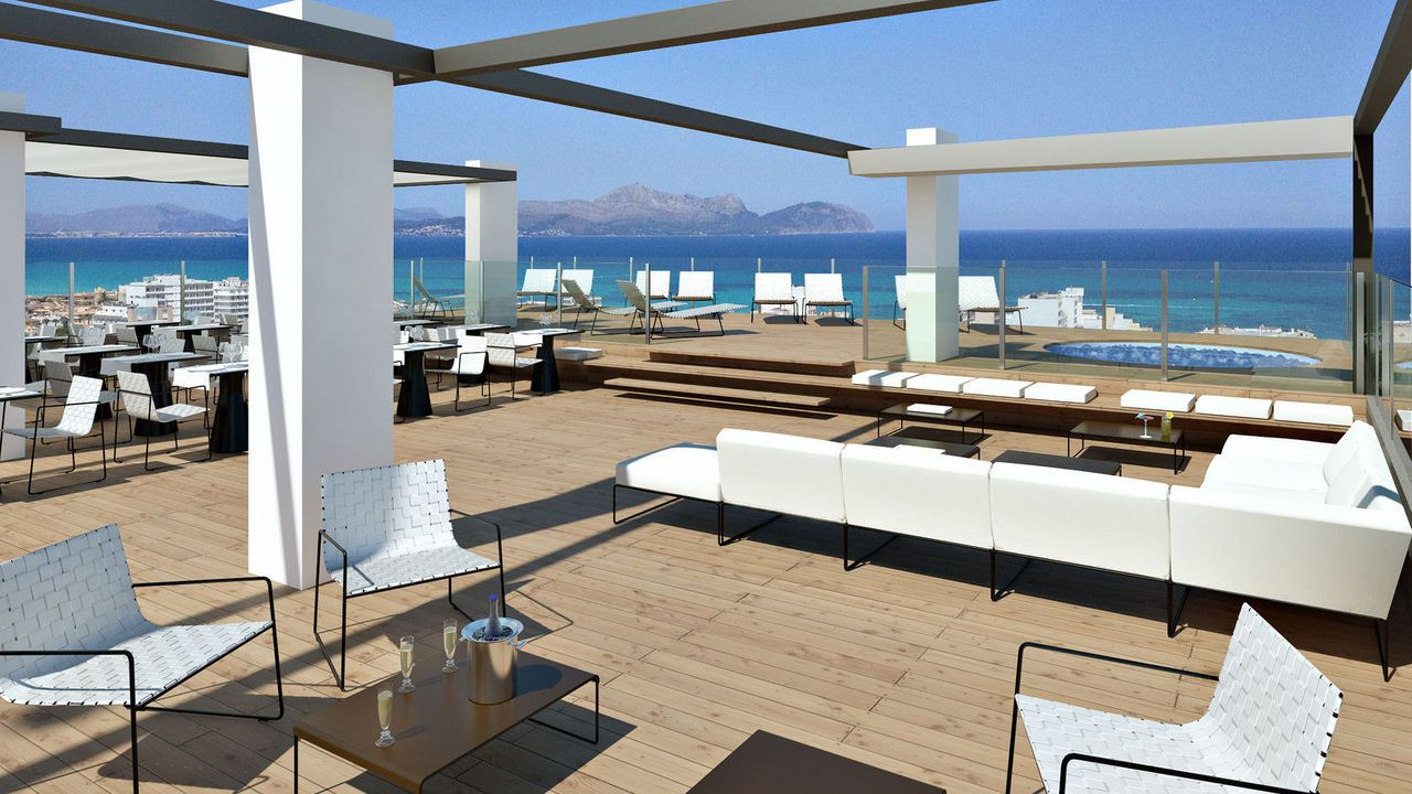 Galer a tonga tower design hotel and suites sitio web for Hotel mallorca design