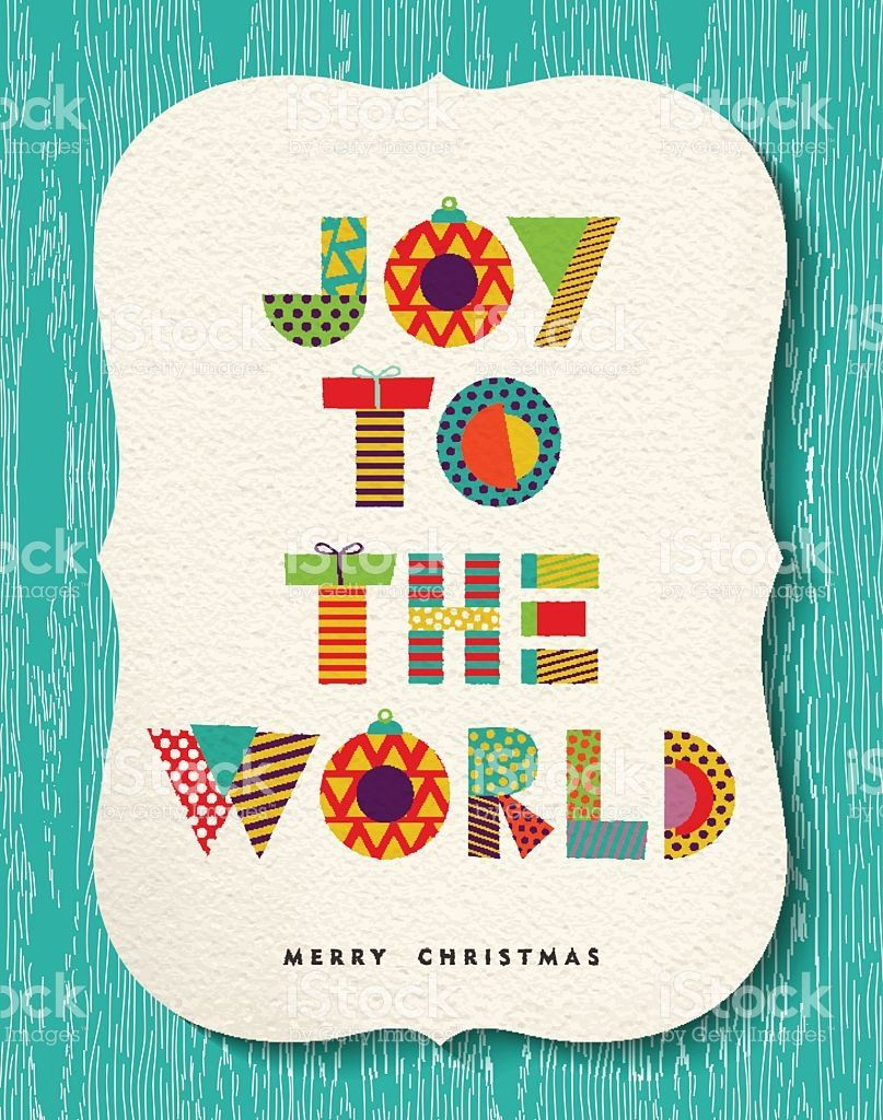 Colorful Merry Christmas Greeting Card Design Happy Holiday