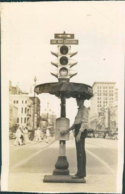First traffic lights by hand | New Orleans - Ain't Dere No ...