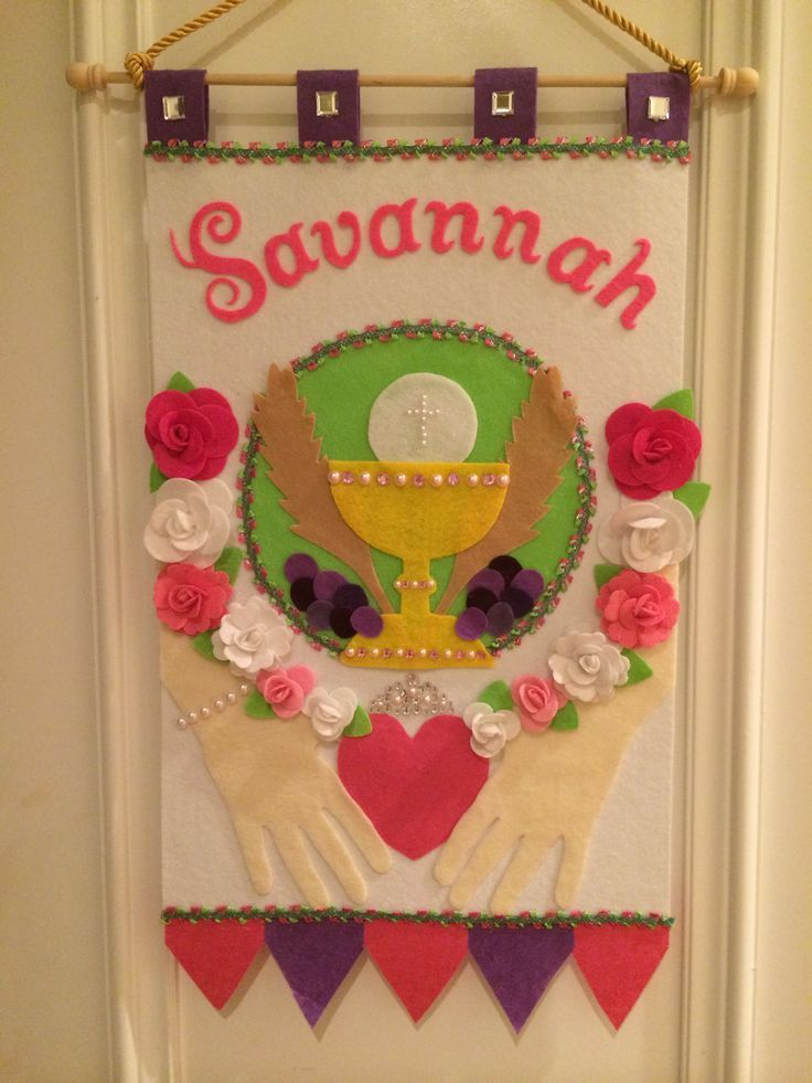 First Communion Banner Templates - Bing Images Sewing for Keelani