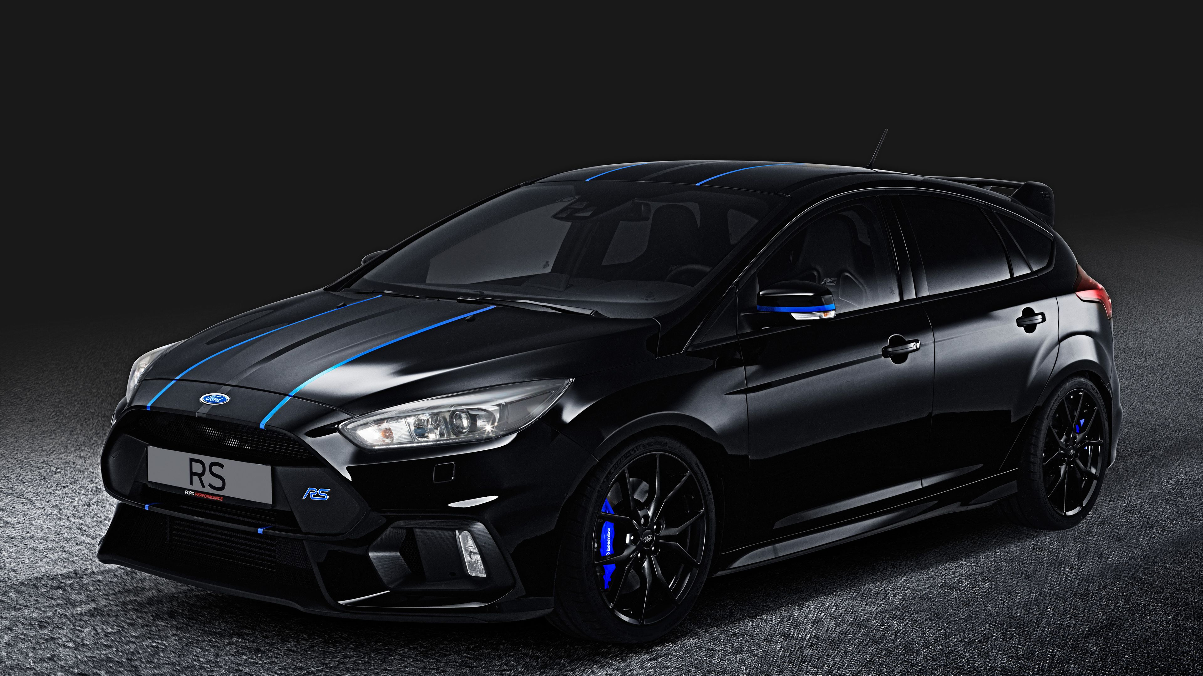 Wallpaper 4k Ford Focus Rs Performance Parts 4k 2017 Cars